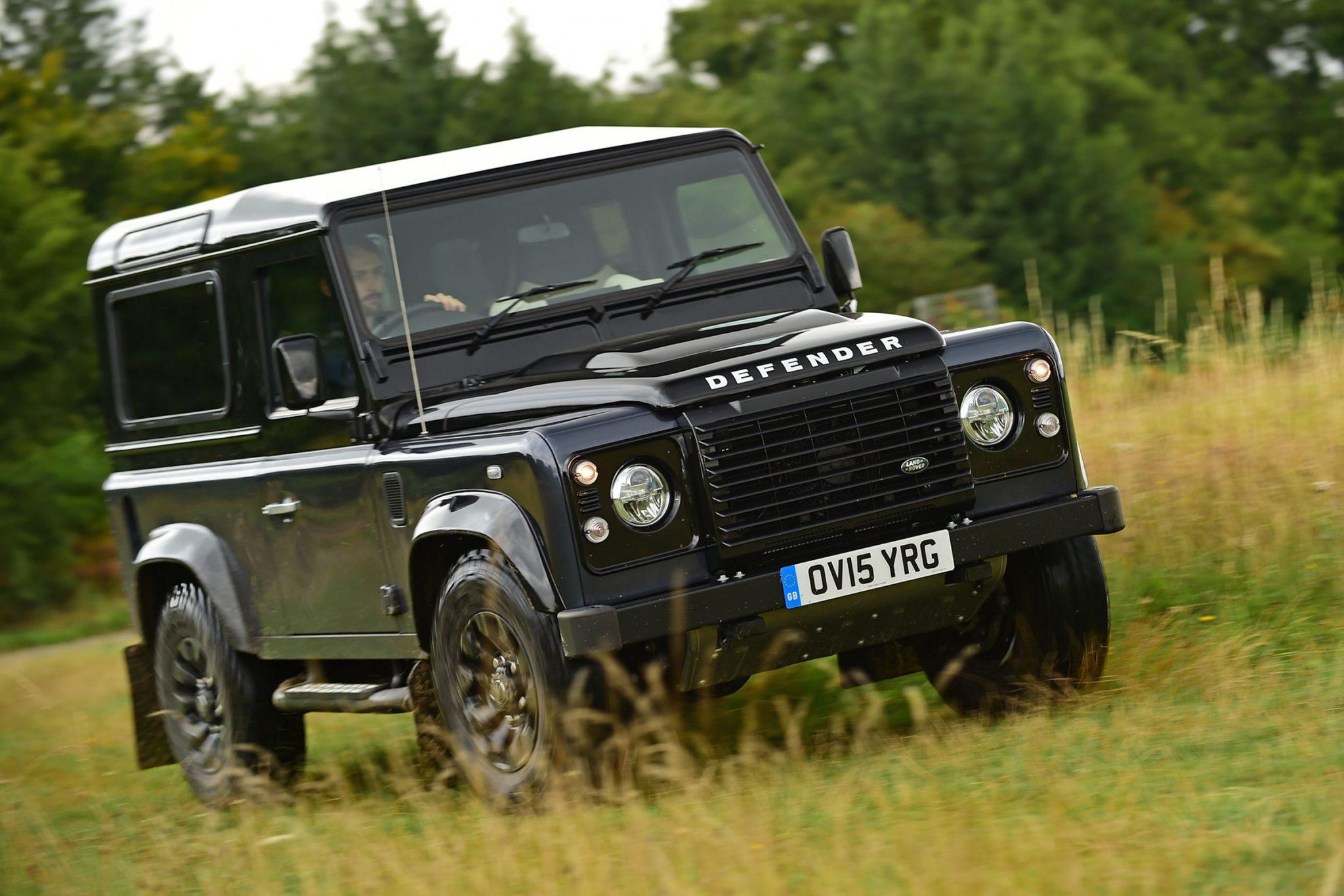 Auto più lente Land Rover Defender 1