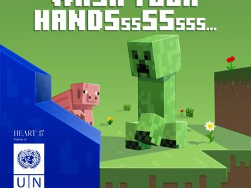 Minecraft coronavirus creeper