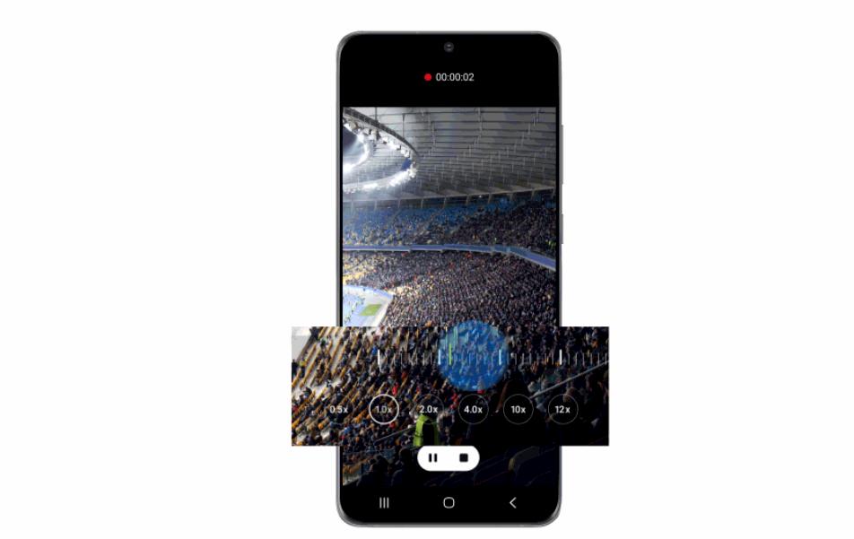Samsung Galaxy S20 fotocamera