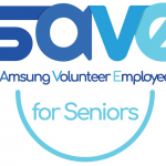 Samsung SAVE for Seniors logo