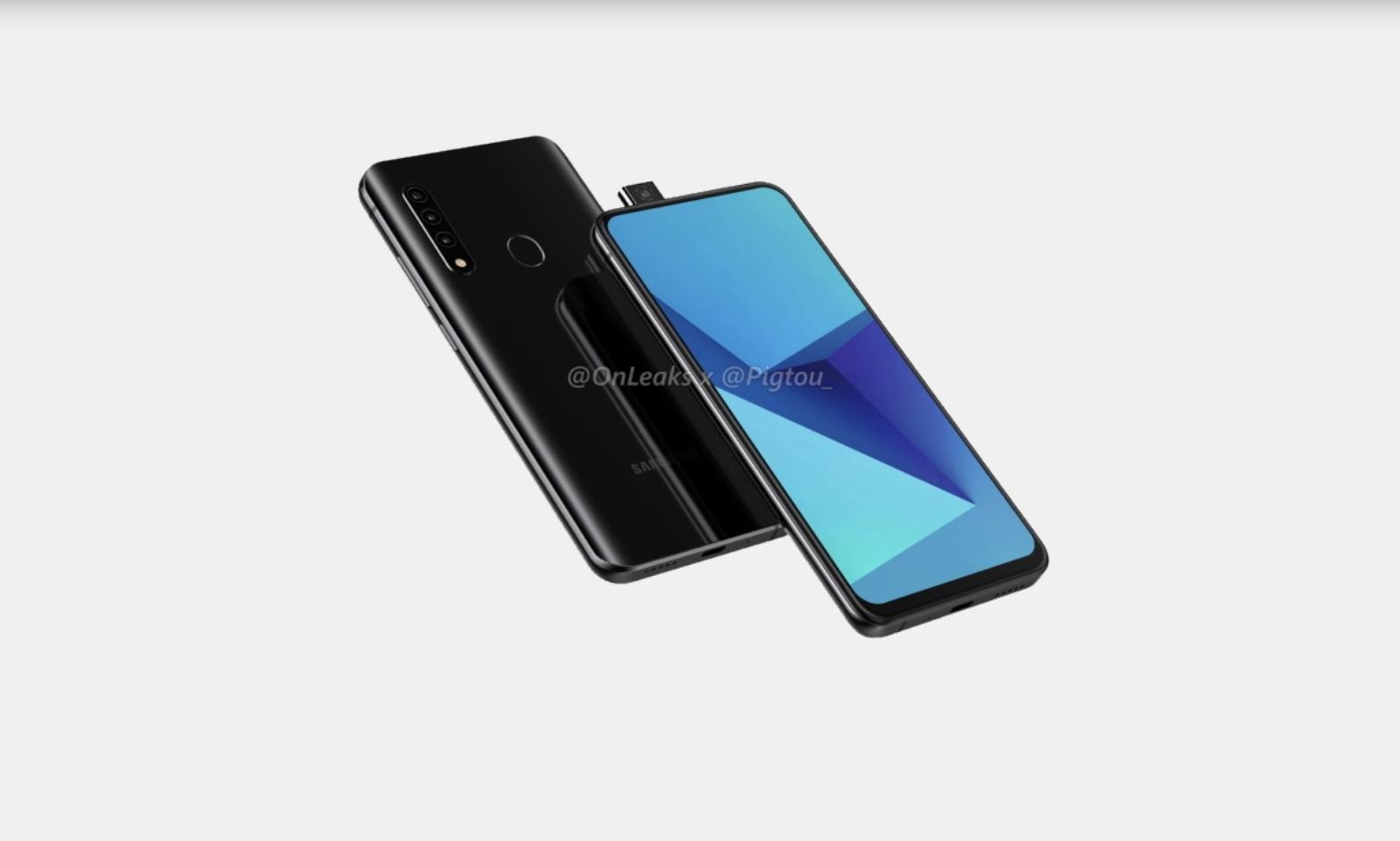 Samsung ha ceduto alla fotocamera pop-up thumbnail