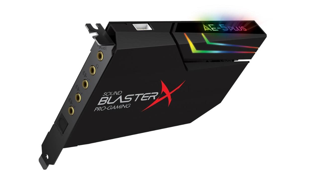 Sound BlasterX AE-5 Plus, nuova scheda audio per un gaming immersivo thumbnail