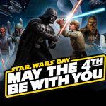 Star Wars Day giochi vestiti prodotti