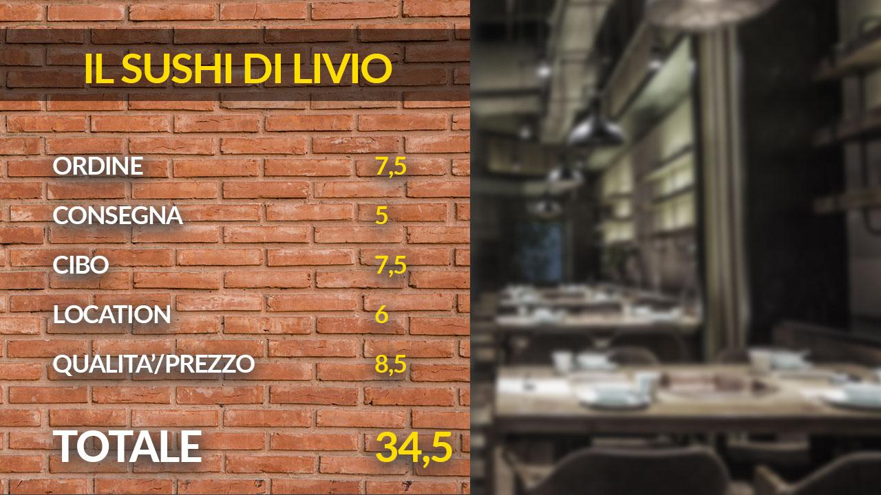 Il sushi di Livio