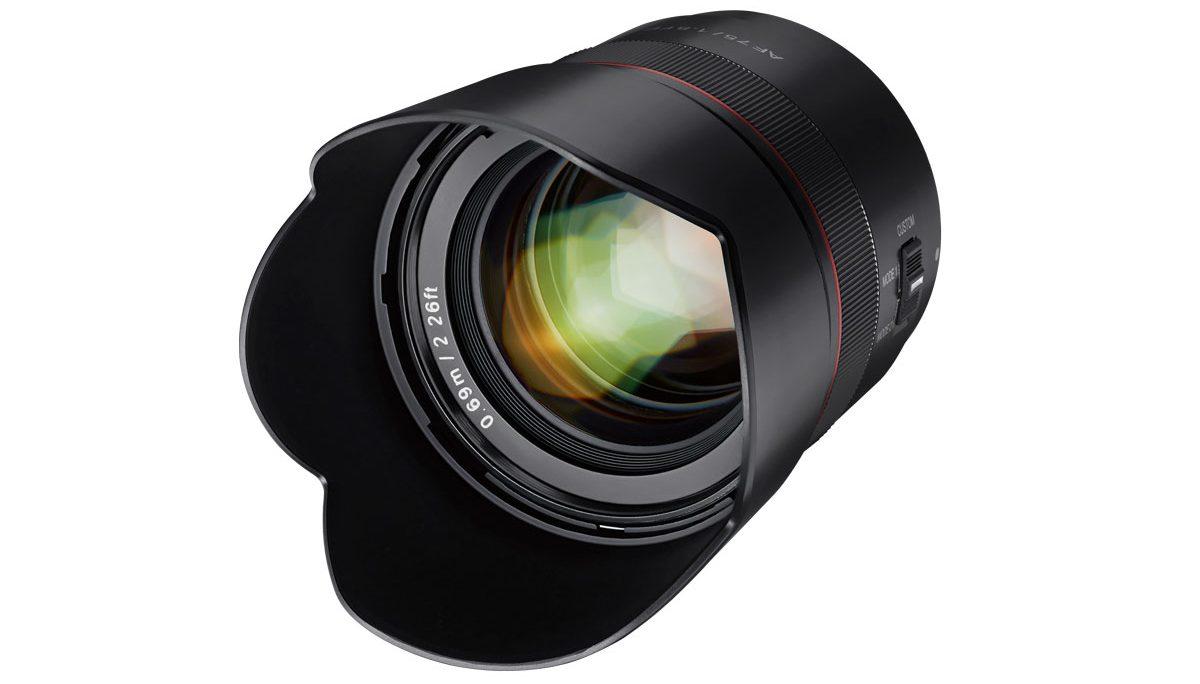 Samyang svela il nuovo 75mm autofocus per Sony thumbnail