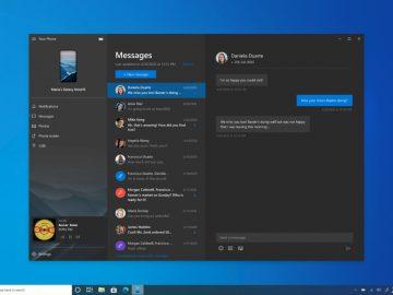 Windows il tuo telefono riproduzione musica telefono PC