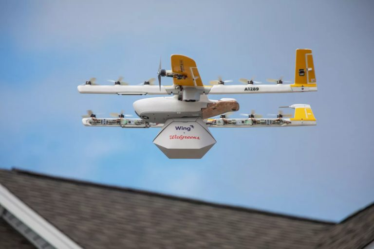 Wing consegne via drone Alphabet Google