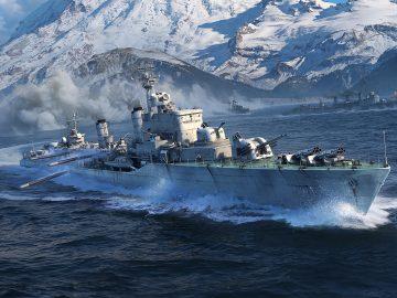 World of Warships cacciatorpedinieri