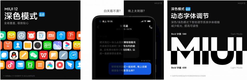 Xiaomi MIUI 12 Dark Mode 2