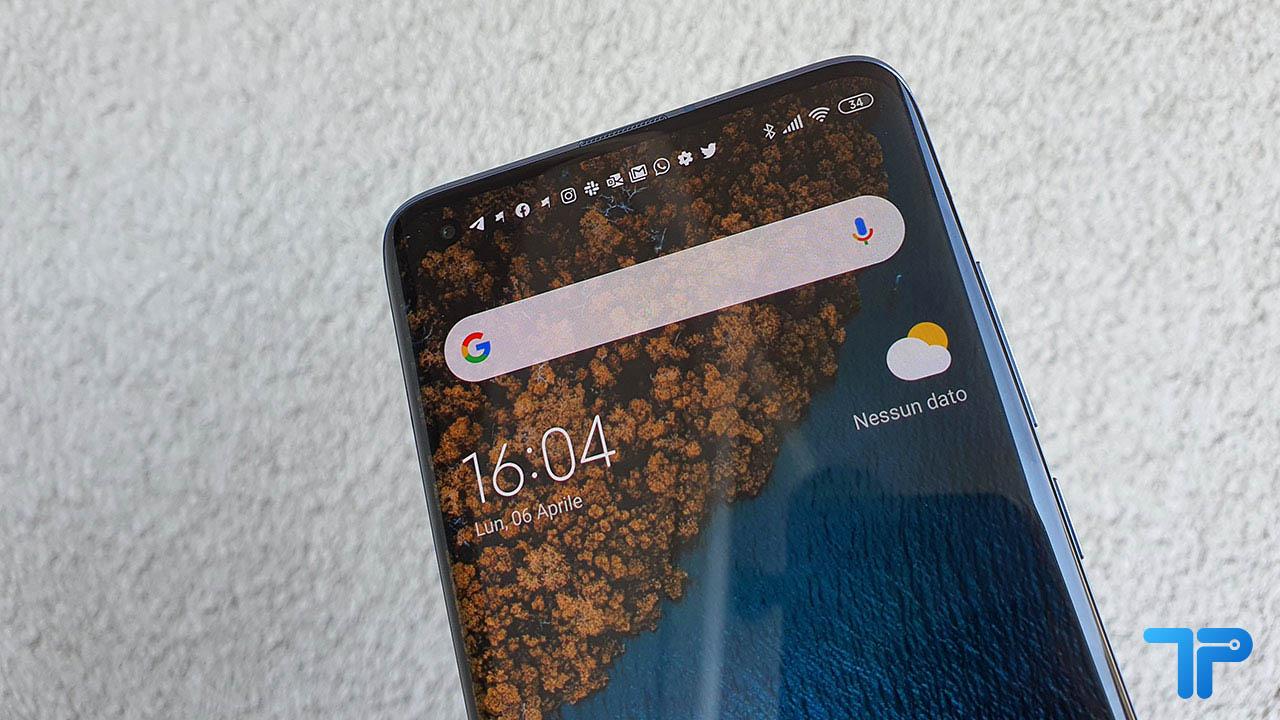 Xiaomi Mi 10 Pro recensione display
