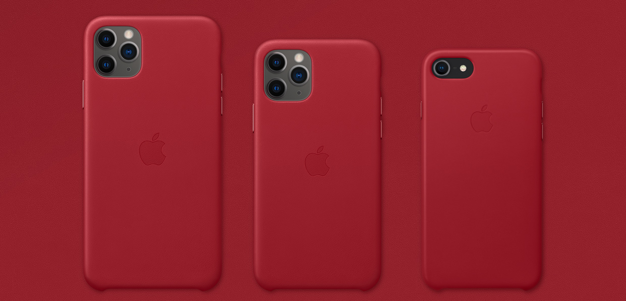 apple product red sostegno covid-19
