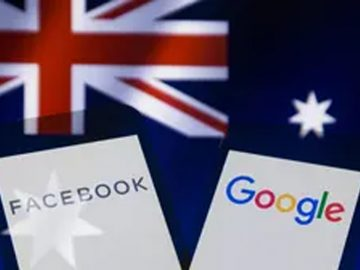 australia facebook google