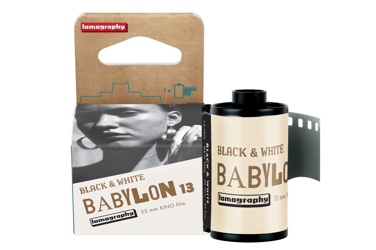 Lomography svela la pellicola Babylon Kino B&W ISO 13 35mm thumbnail