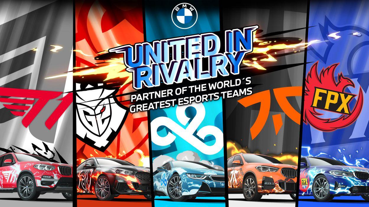 BMW annuncia la partnership con i 5 top team di esport tra cui Fnatic thumbnail