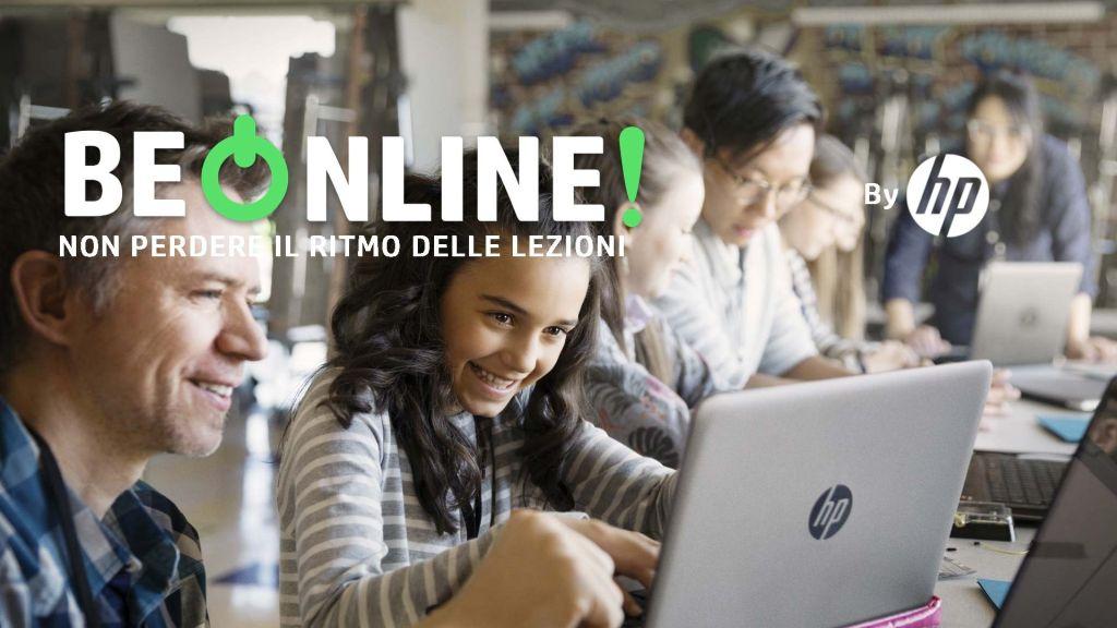 HP lancia BeOnline per supportare l'apprendimento a distanza thumbnail
