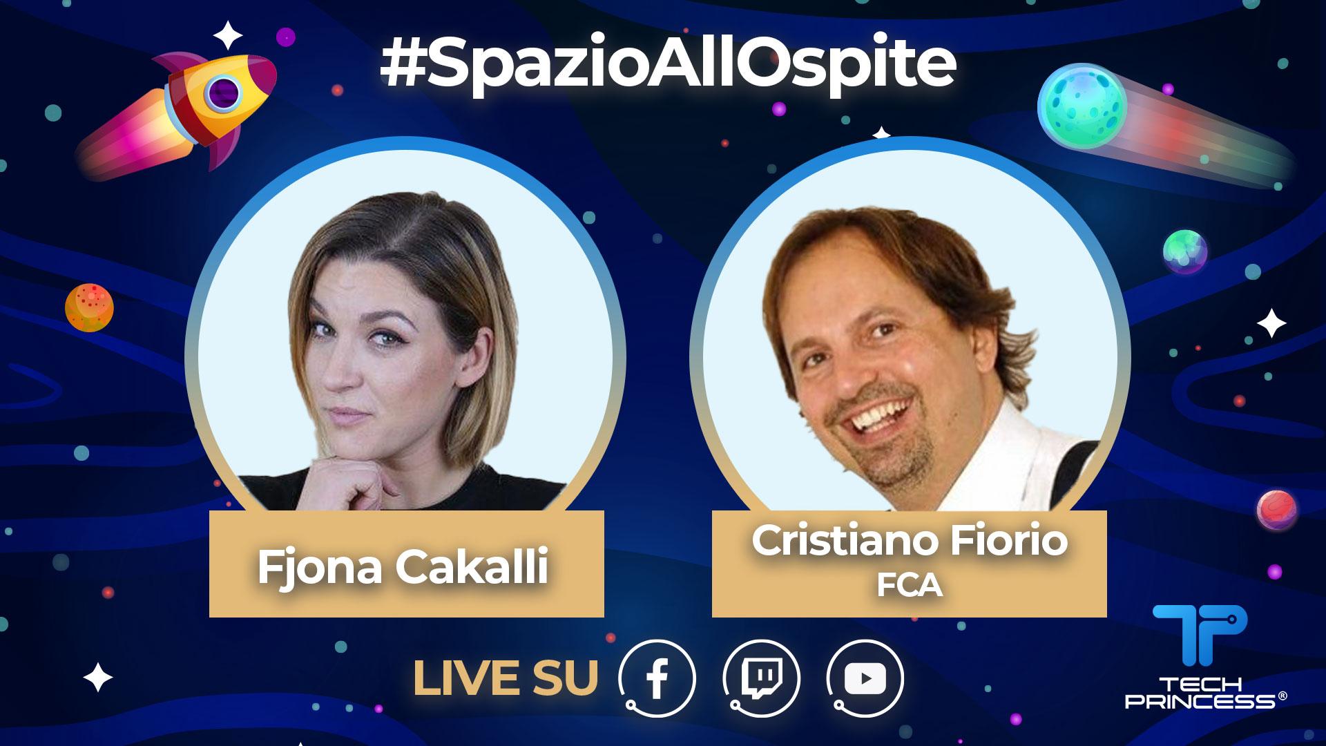 Cristiano Fiorio, FCA: intervista in diretta sabato 2 maggio ore 18.00 | #SpazioAllOspite thumbnail