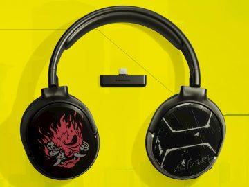 cuffie wireless cyberpunk 2077 steelseries copertina