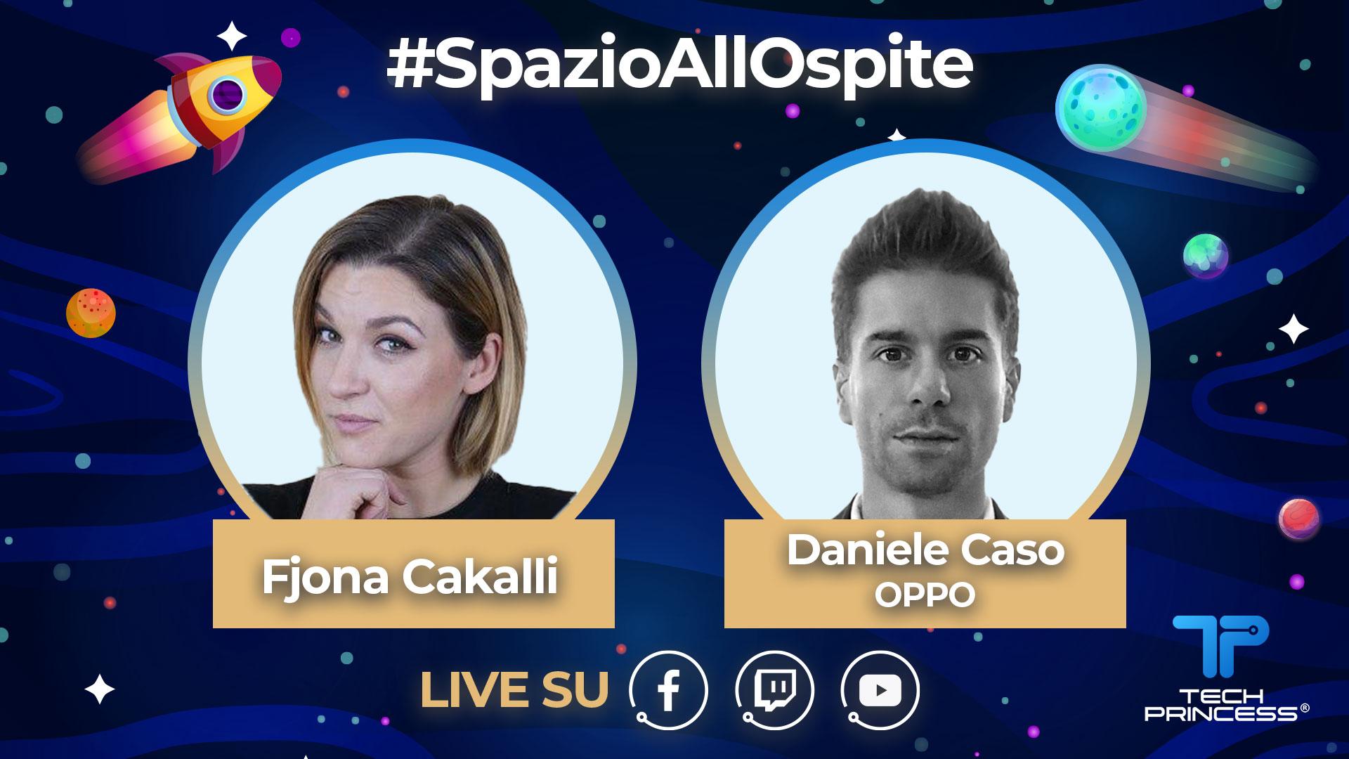 Daniele Caso, OPPO: intervista in diretta martedì 28 Aprile ore 18.00 | #SpazioAllOspite thumbnail