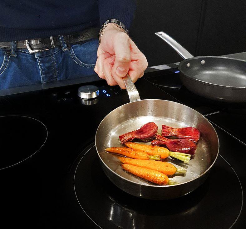 davide oldani virtual flame ricetta chef