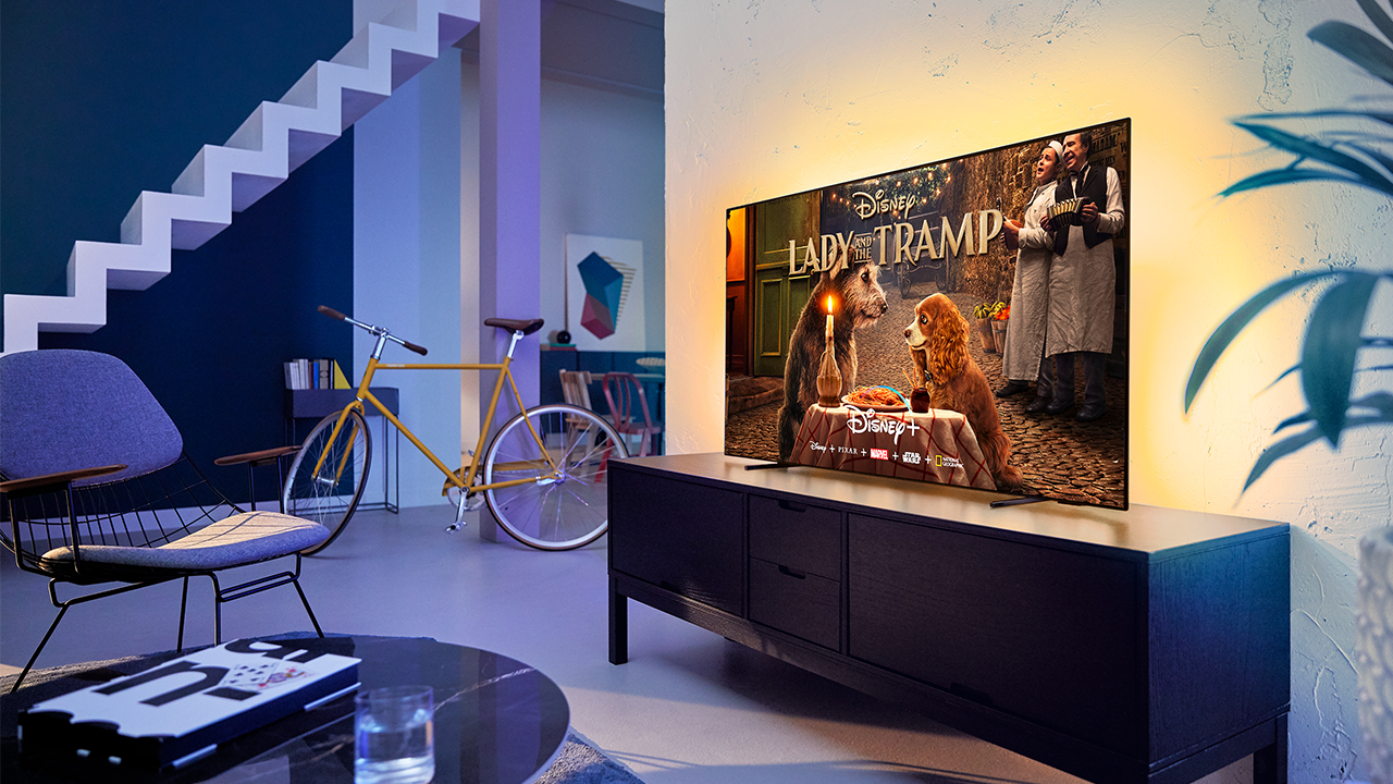 Disney+ sbarca sui TV Philips Ambilight thumbnail