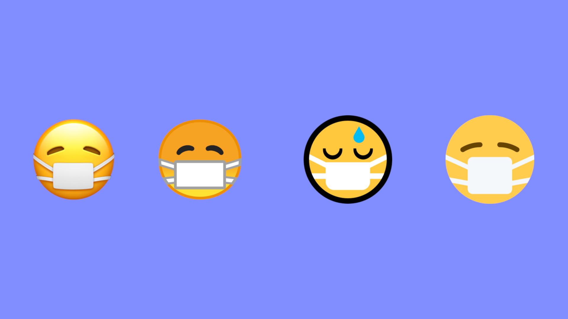 La pandemia colpisce anche le emoji thumbnail