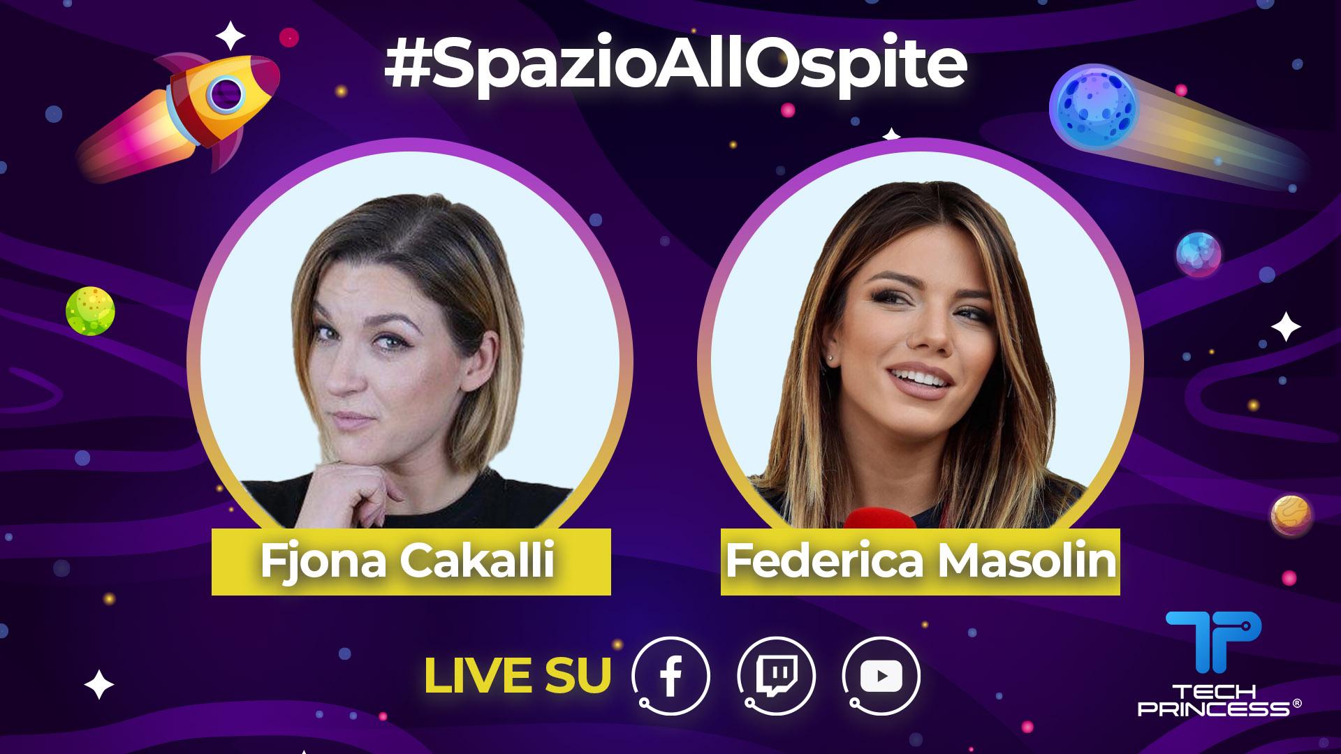 Federica Masolin: intervista in diretta sabato 11 Aprile ore 15.00 | #SpazioAllOspite thumbnail
