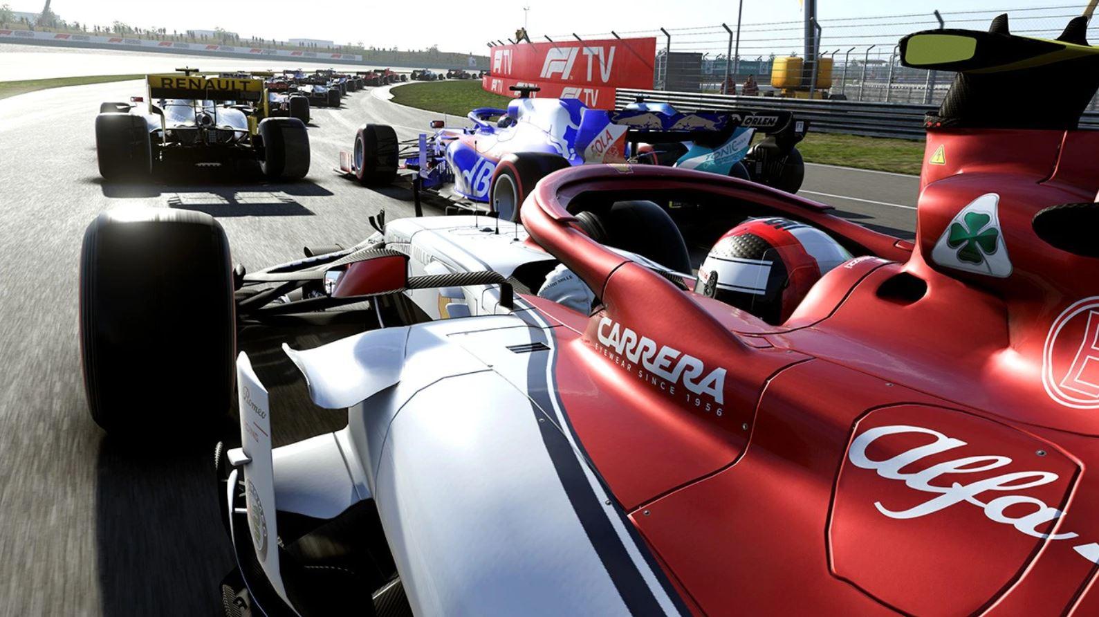 La Formula 1 diventa virtuale thumbnail