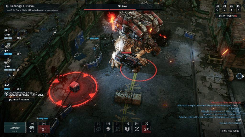 Gears Tactics recensione