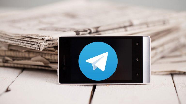 giornali gratis telegram bloccato canali sequestro