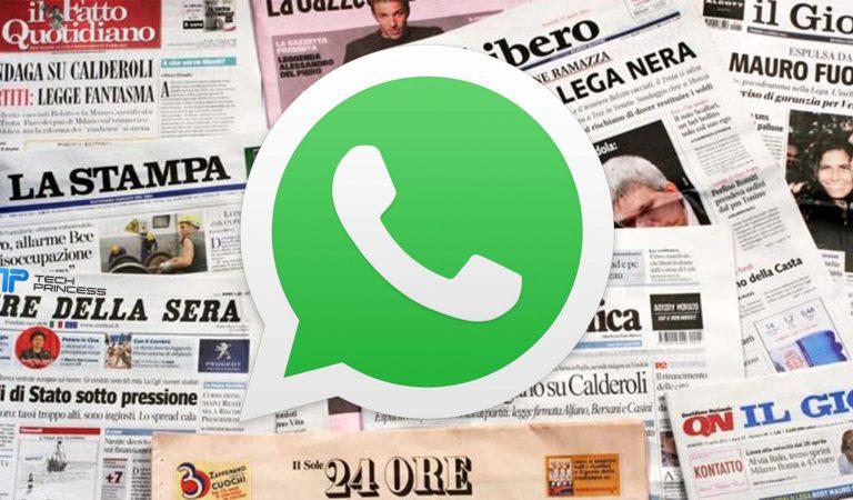 I giornali gratis si trovano anche su WhatsApp. Perché la FIEG non chiede di bloccarlo? Forse perché non è la soluzione