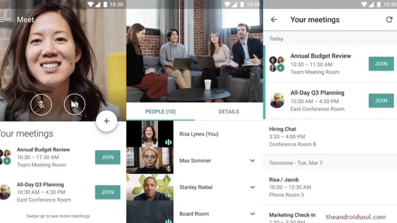 google hangouts meet gratis