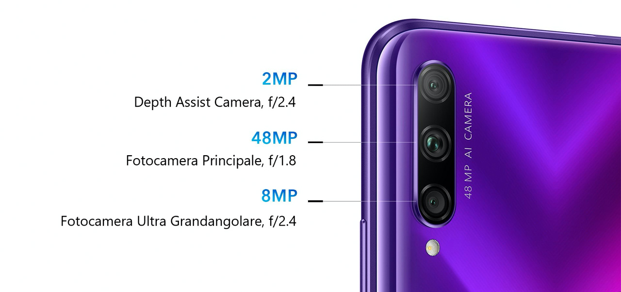 honor 9x pro fotocamere