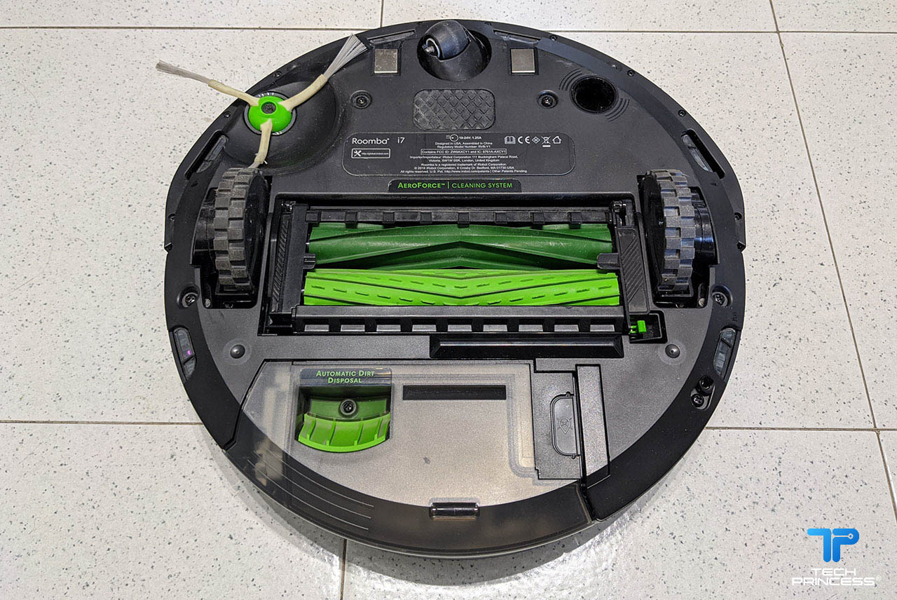iRobot Roomba i7+ recensione spazzola