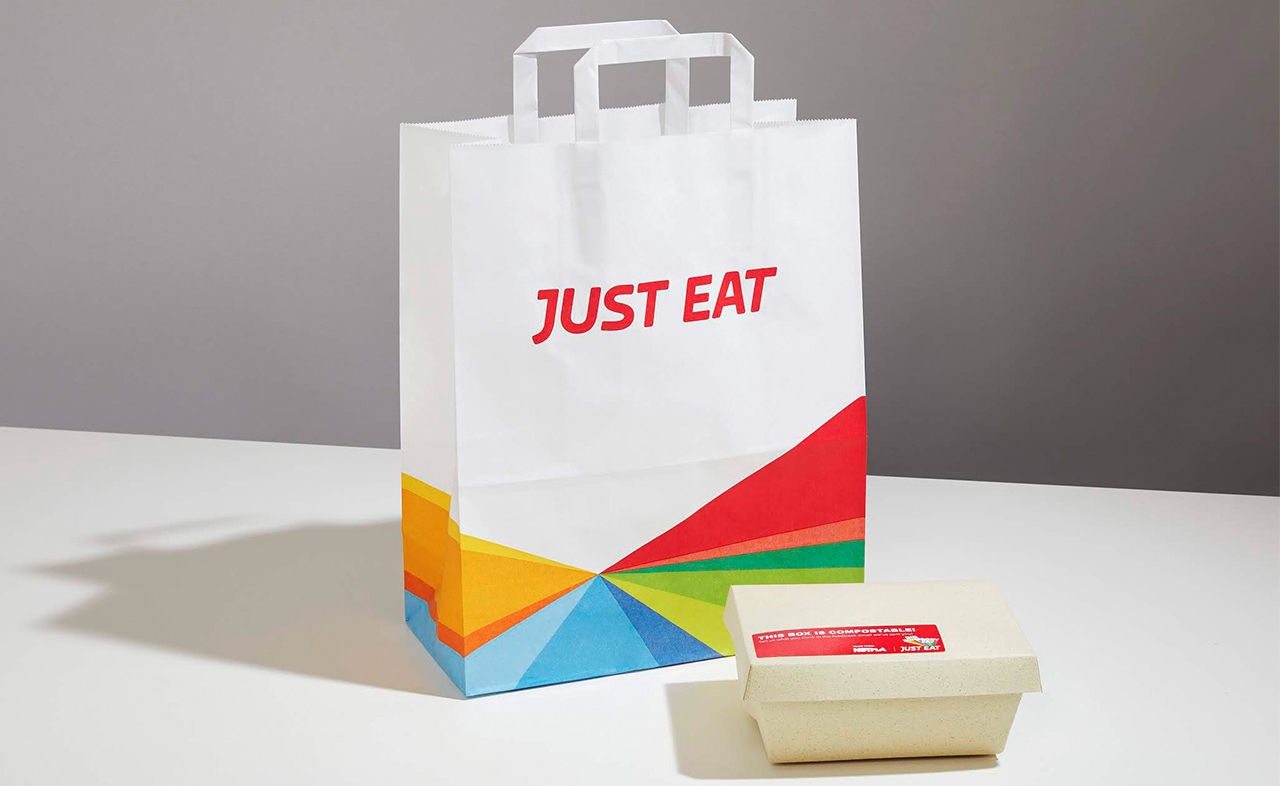 just eat elimina la plastica