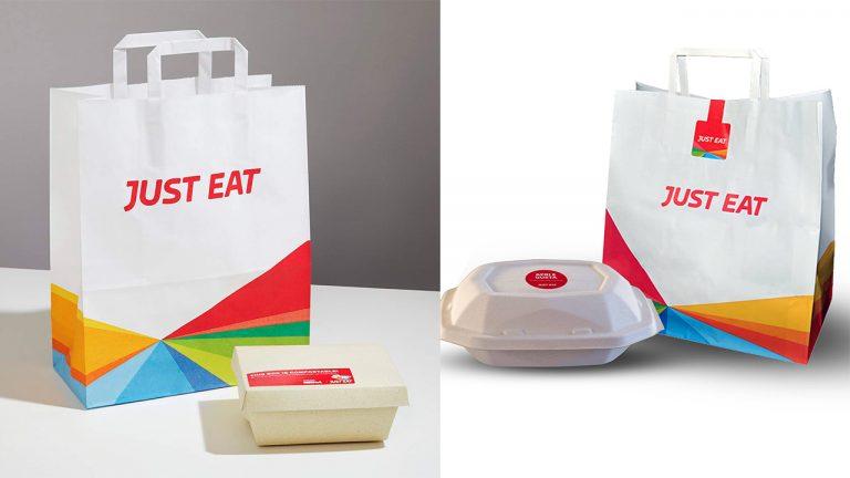 just eat progetto ridurre plastica