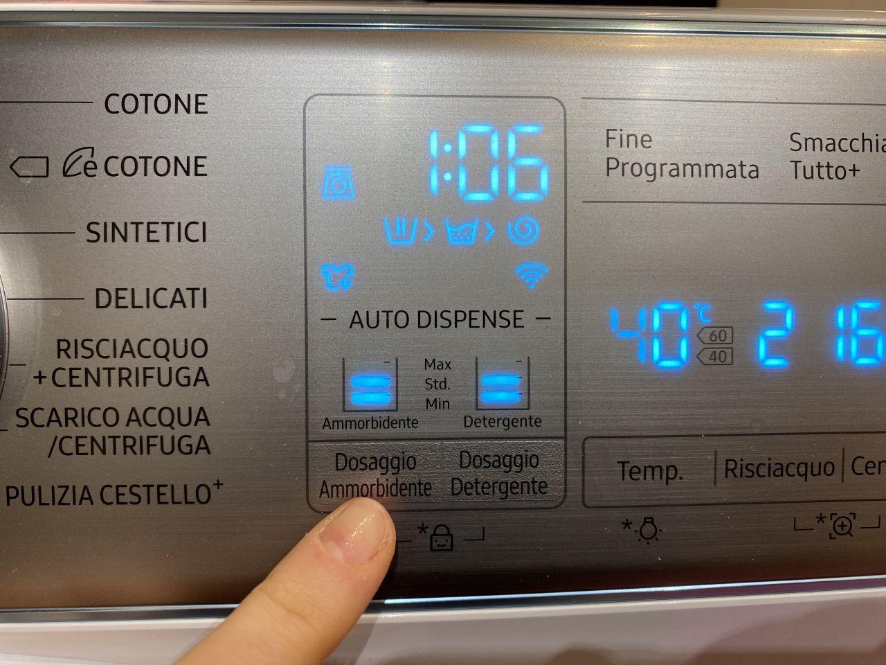 lavatrice samsung