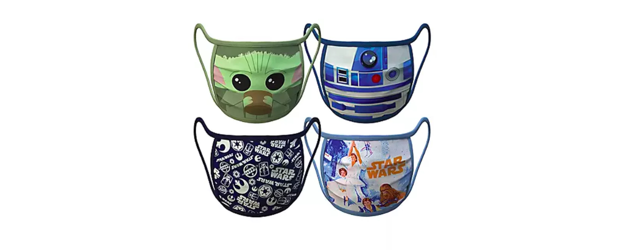 I personaggi Marvel e Star Wars sono sulle mascherine vendute da Disney thumbnail
