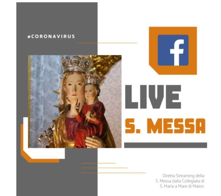 Santa Messa in streaming