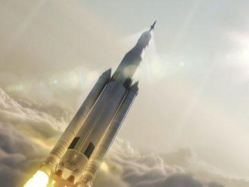 nasa-stazione spaziale lancio