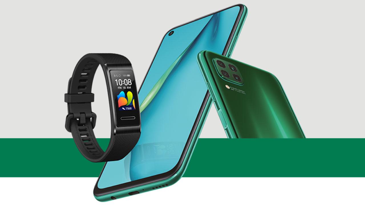Huawei Band 4 Pro  gratis per chi acquista Huawei P40 Lite thumbnail
