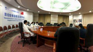 Napoli in linea diretta con Shanghai contro il COVID-19 Ieri si è tenuta la prima conference call tra i medici campani e quelli cinesi che hanno seguito l'inizio dell'epidemia