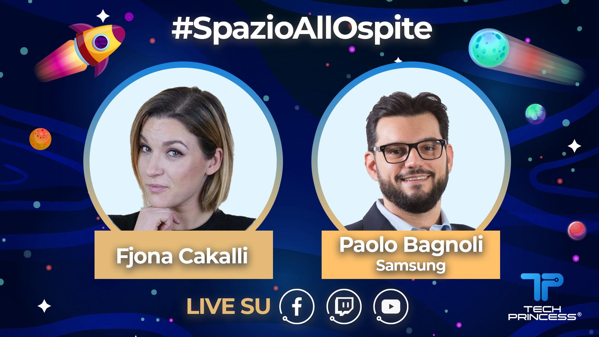 Paolo Bagnoli, Samsung: intervista in live streaming | #SpazioAllOspite thumbnail