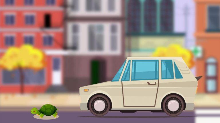 Auto più lente copertina