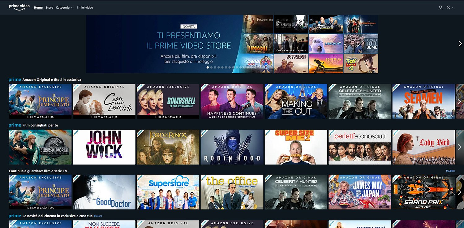 Prime Video Store sbarca in Italia: noleggia o acquista i tuoi film preferiti thumbnail