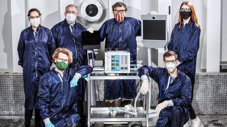 prototipo ventilatore nasa