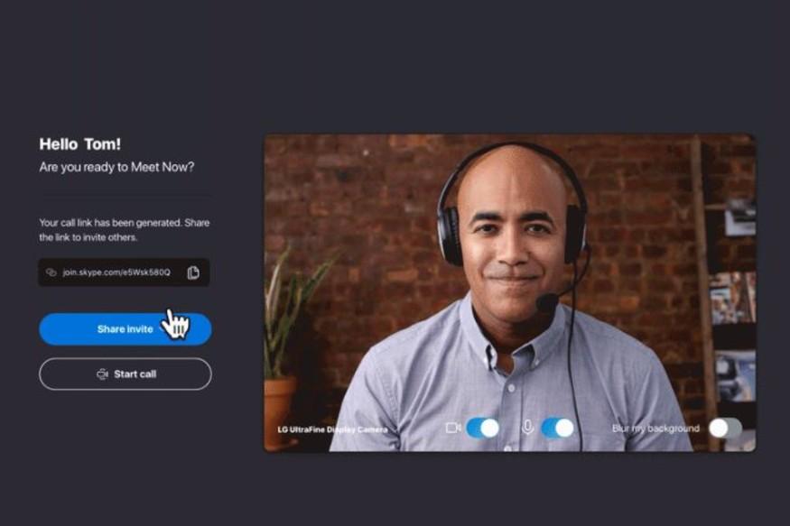 skype meet now zoom