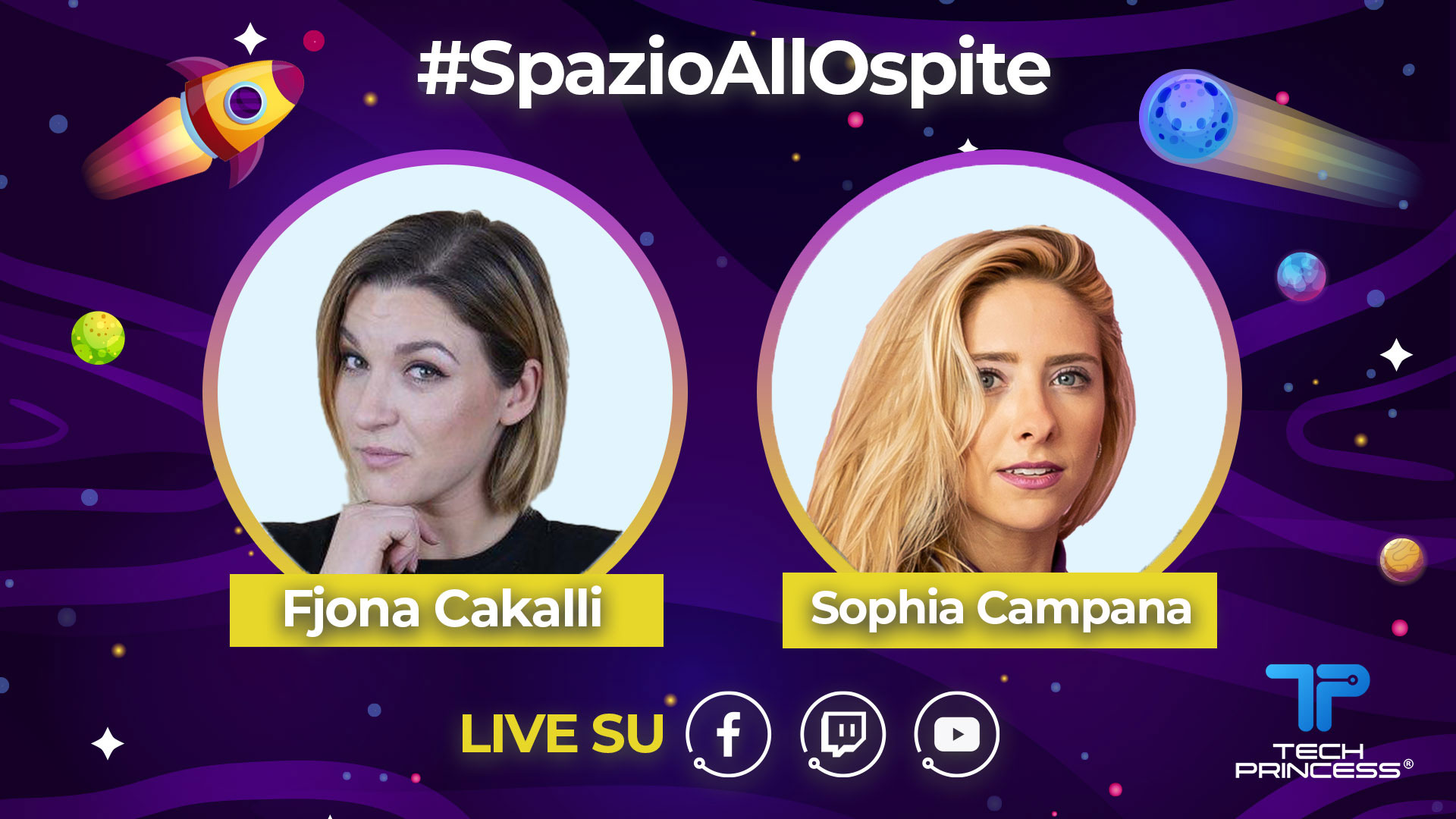 Sophia Campana, ginnasta professionista: intervista in diretta mercoledì 29 Aprile ore 18.00 | #SpazioAllOspite thumbnail