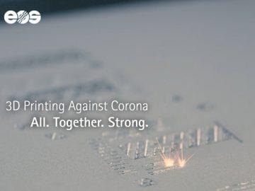 stampa 3d coronavirus against corona