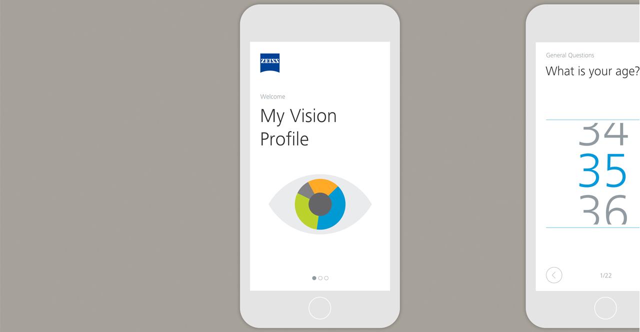 test profilo visivo salute occhi