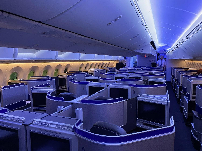 united airlines prima classe elite